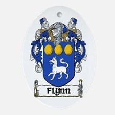 Flynn Coat of Arms Keepsake Ornament