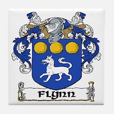 Flynn Coat of Arms Ceramic Tile