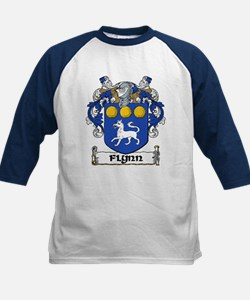 Flynn Coat of Arms Kids Baseball Jersey