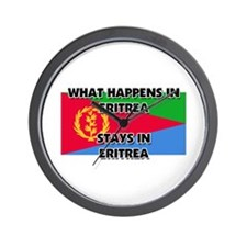 What Happens In ERITREA Stays There Wall Clock