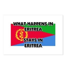 What Happens In ERITREA Stays There Postcards (Pac