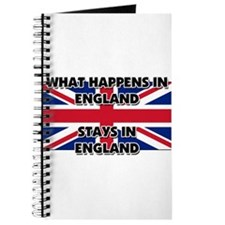 What Happens In ENGLAND Stays There Journal