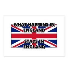 What Happens In ENGLAND Stays There Postcards (Pac