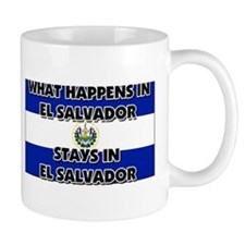 What Happens In EL SALVADOR Stays There Mug
