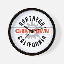 Chinatown California Wall Clock
