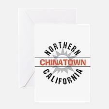 Chinatown California Greeting Card
