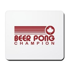 Canadian Beer Pong Mousepad