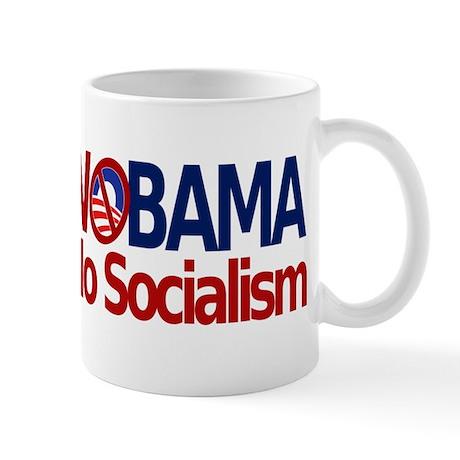 NObama, No Socialism Mug