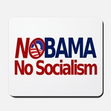 NObama, No Socialism Mousepad