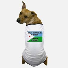 What Happens In DJIBOUTI Stays There Dog T-Shirt