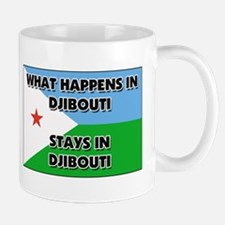 What Happens In DJIBOUTI Stays There Mug