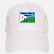 What Happens In DJIBOUTI Stays There Baseball Baseball Cap