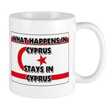 What Happens In CYPRUS Stays There Mug