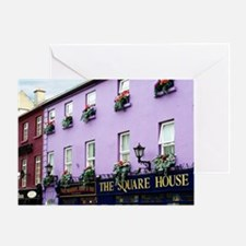 The Square House Greeting Card