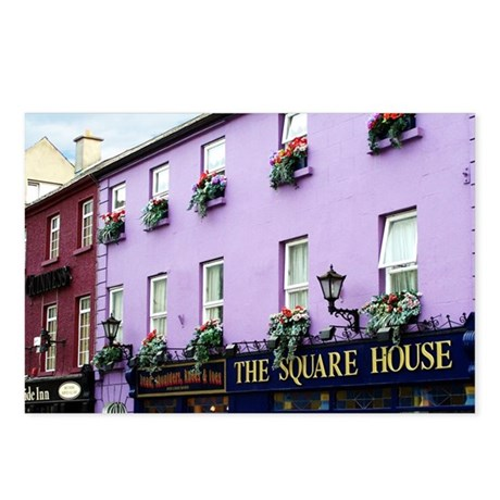 The Square House Postcards (Package of 8)