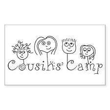 Cousins' Camp Rectangle Decal