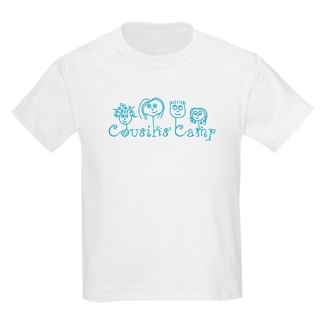 CafePress Cousins' Camp Kids Light T-Shirt