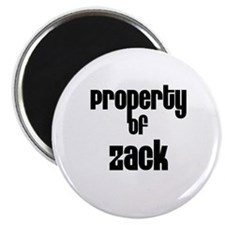Property of Zack Magnet
