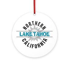 Lake Tahoe California Ornament (Round)
