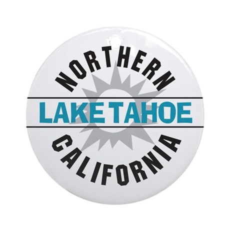 Lake Tahoe California Ornament (Round)