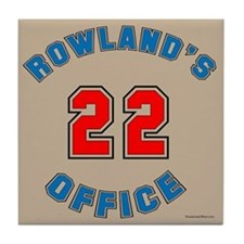 Rowland's Office Tile Coaster