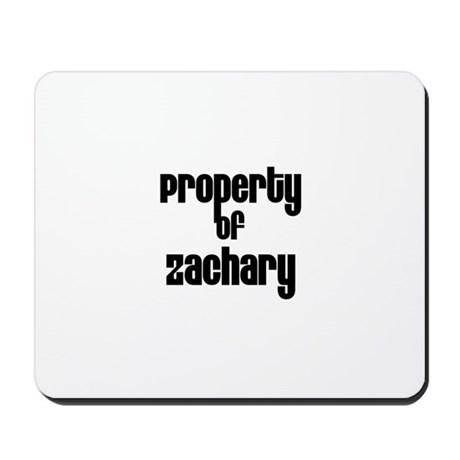 Property of Zachary Mousepad