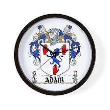 Adair Coat of Arms Wall Clock