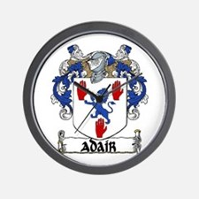 Adair Coat of Arms Wall Clock