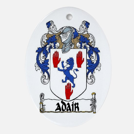 Adair Coat of Arms Ornament (Oval)