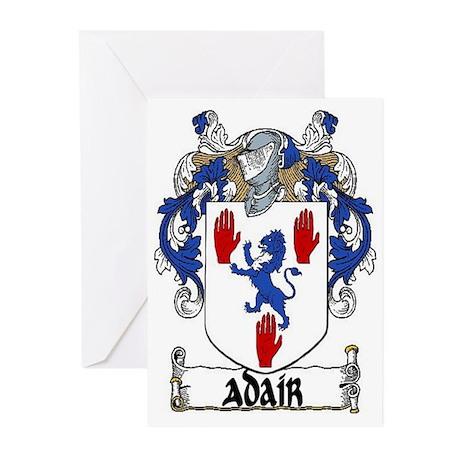 Adair Coat of Arms Greeting Cards (Pk of 10)