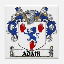 Adair Coat of Arms Tile Coaster