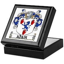 Adair Coat of Arms Keepsake Box
