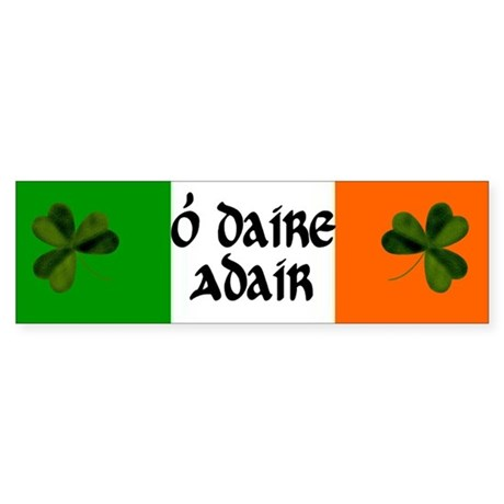 Adair Coat of Arms Sticker (Bumper)