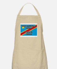 What Happens In CONGO Stays There BBQ Apron
