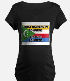 What Happens In COMOROS Stays There T-Shirt