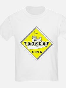 Tugboat Xing sign T-Shirt