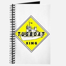 Tugboat Xing sign Journal