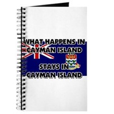 What Happens In CAYMAN ISLAND Stays There Journal