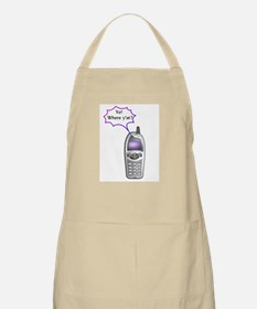 Cell Phone Junkie BBQ Apron