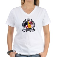 Transportation Safety Women's V-Neck T-Shirt