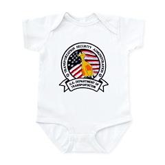Transportation Safety Infant Bodysuit