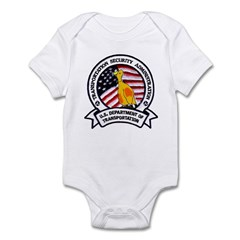 Transportation Safety Infant Bodysuit