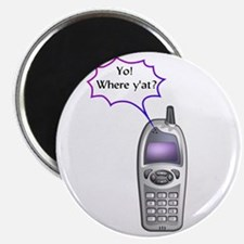 "Cell Phone Junkie 2.25"" Magnet (10 pack)"