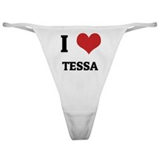 I Love Tessa Classic Thong