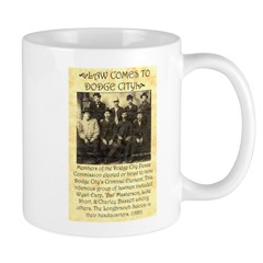 Dodge City Peace Commission Mug