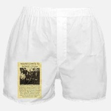 Dodge City Peace Commission Boxer Shorts
