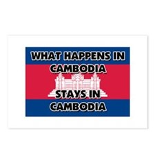 What Happens In CAMBODIA Stays There Postcards (Pa