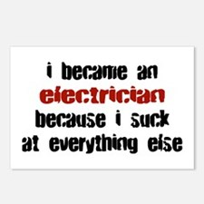 Electrician Suck at Everything Postcards (Package