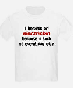 Electrician Suck at Everything T-Shirt