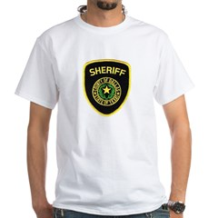 Dallas County Sheriff White T-Shirt